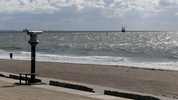 Sea, Beach, North Sea, Island, Norderney, Coast