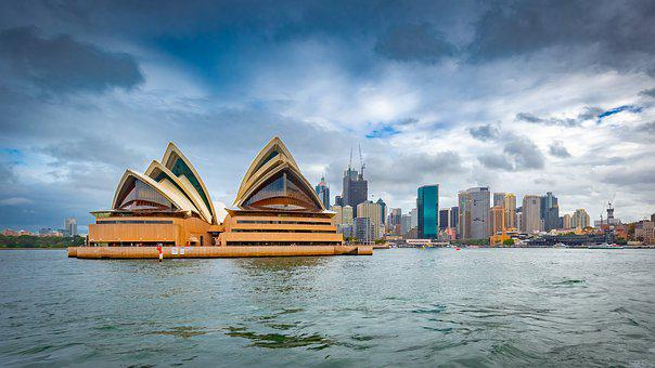 Sydney, Opera, Operahouse, Harbour, Water, Boat, City