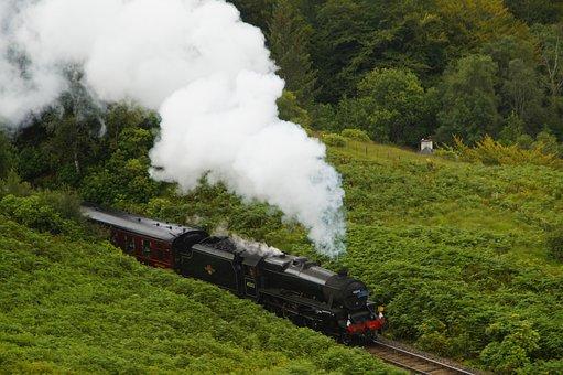 Hogwarts Express, Railway, Train, Steam