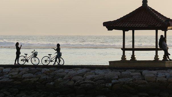 Bali, Indonesia, Sanur, Sunrise, Landscape, Travel