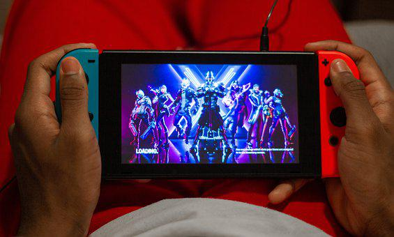 Fortnite, Video Game, Nintendo, Switch, Gamer, Gamepad