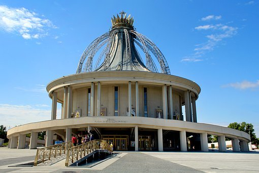 The Sanctuary Of The Blessed Virgin Mary And St John...
