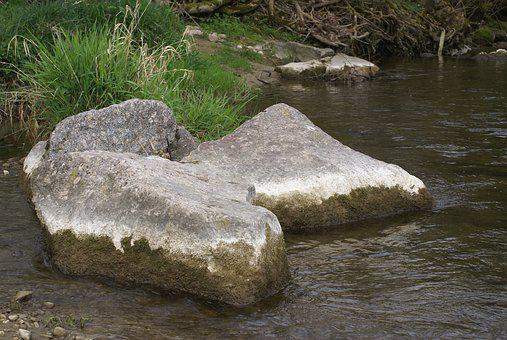 Bach, Water, Stone, Nature, River, Creek, Scenic, Wet