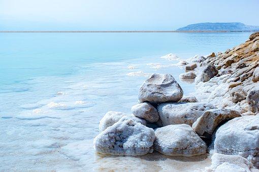 Horizon, Dead Sea, Israel, Blue, мертвое море, израиль