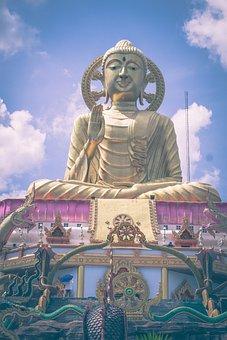 Religion, Buddha Statue, Buddhism, Meditation, Soul