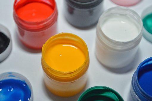 Colors, Paints, Studio, Camera