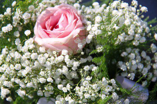 Wedding, Flower, Ceremony, Bouquet, Roses, Celebration