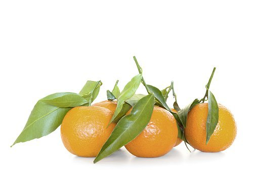 Citrus, Fruit, Tangerine, Orange, Clementine, Green