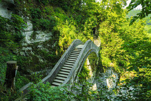 Devil's Bridge, Sigmaringen, Inzigkofen, Danube Valley