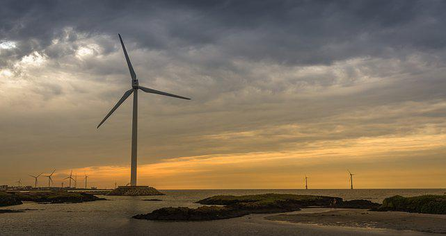 Wind Generators, Wind, Energy, Environment, Sky