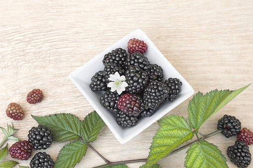 Blackberry, Food, Fruit, Berry, Ripe, Healthy, Sweet