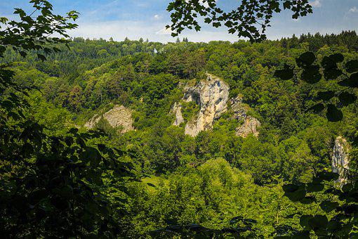 Danube Valley, Swabia, Rock, Hiking, Walk, Beuron