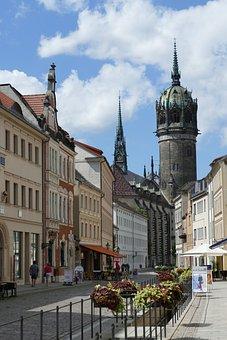 Wittenberg, Monument, Saxony-anhalt, Historically