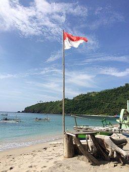Indonesia, Indonesia Flag, National, Landscape