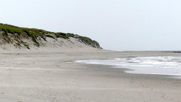 Dunes, Sea, Norderney, North Sea, Vacations, Relaxation