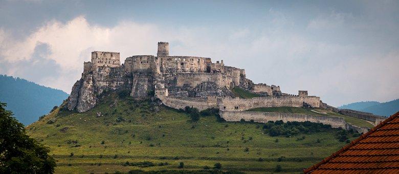 Zips, File, Spis Castle, Panorama, Slovakia, Tatry