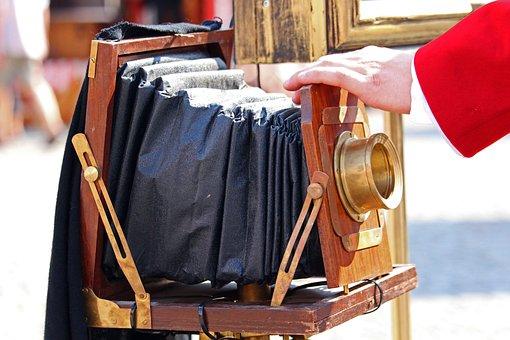 Photographer, Nostalgia, Vintage, Age Clothing Style