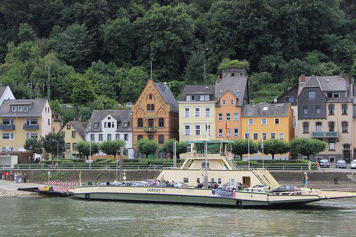 Loreley, Ferry, River, Cruise, Water, Boat, Europe
