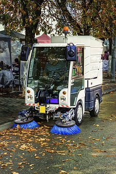 Road Sweeper, Street Cleaning, Cleaning, Clean, Sweeper