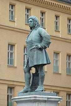 Monument, Statue, Figure, Handel