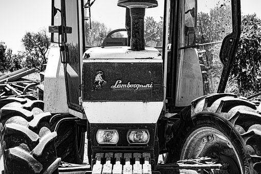 Tractor, Industrial, Machinery, Vehicle, Equipment