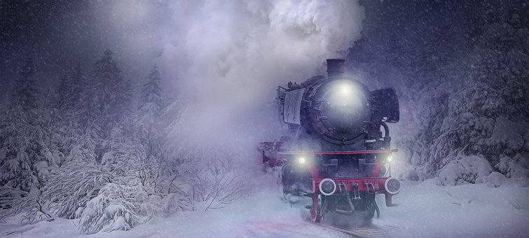 Nature, Landscape, Train, Loco, Steam Locomotive