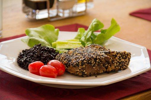 Tuna, Fish, Sushi, Healthy, Meal, Japanese, Mar