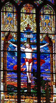 Church Window, Window, Stained Glass Window, Faith