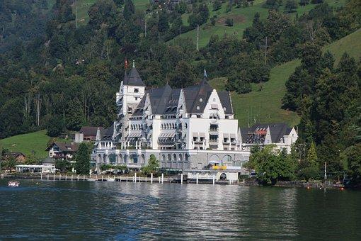 Switzerland, Alpine, Mountains, Lake Of Lucerne
