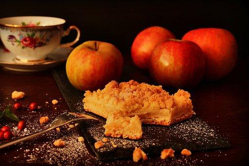 Apple Pie, Autumn, Dessert, Cake, Fruit, Dough, Bake