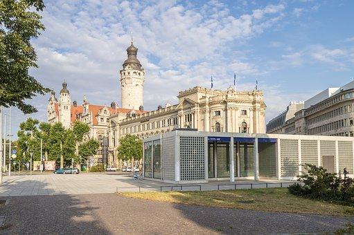 Wilhelm-leuschner-platz, Leipzig, City, Architecture