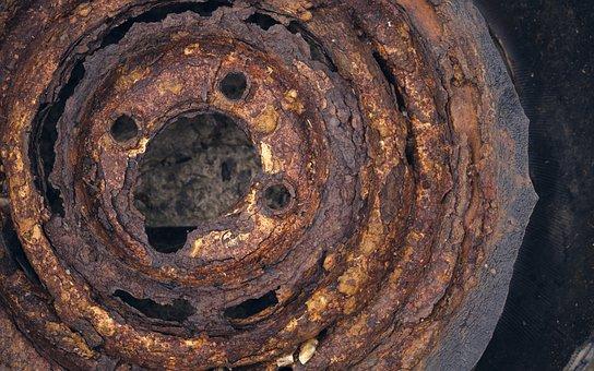Rim, Auto, Rust, Transient, Rusted, Old, Auto Tires