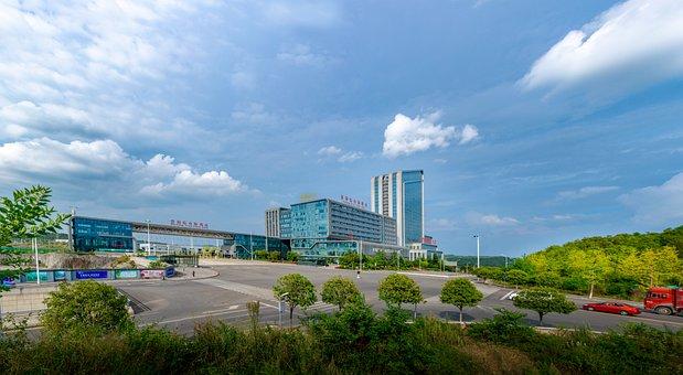 Sky, Building, 高积云, Cloud, Sar, Guiyang