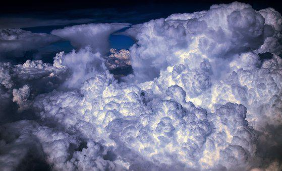 Clouds, Sky, Nature, Weather, Atmosphere, Heaven