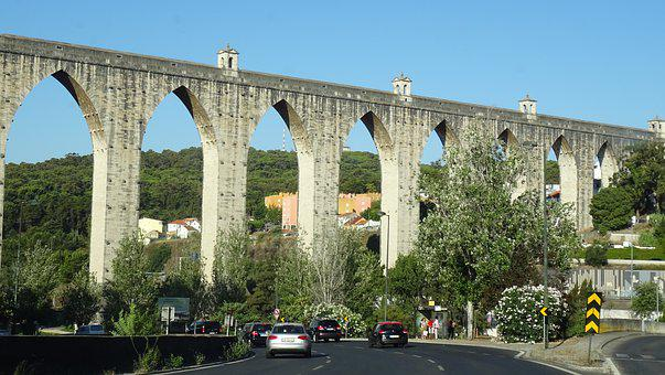Aqueduct, Architecture, History, Old, Romance, Ancient