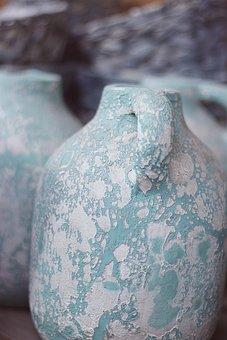 Clay Pots, Jugs, Pots, Pottery, Terracotta, Vase, Sound