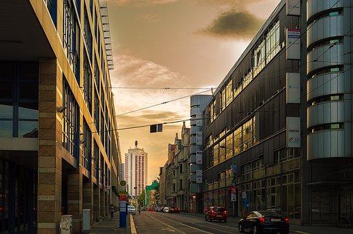 Winter Garden High-rise, Leipzig, Architecture