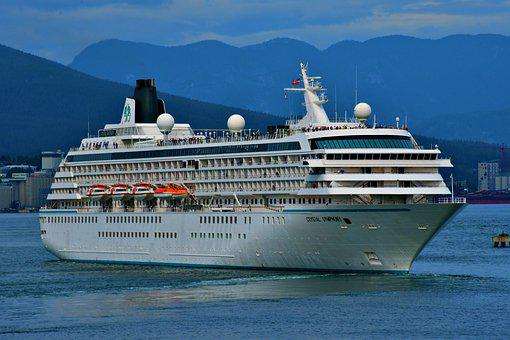 Cruise Ship, Transportation, Maritime, Site Seeing