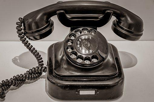 Phone, Dial, Technology, Historically, Communication