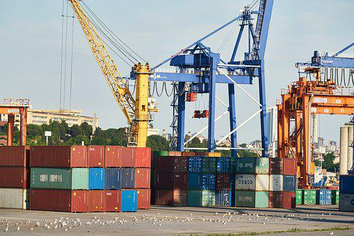 Container, Shipping, Port, Ship, Transport, Trade