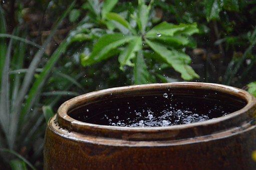 Water, Rain, Ripple, Spring, Drops, Window, Liquid