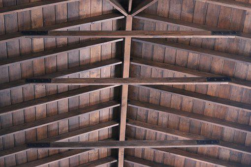 Roof, Wooden Roof, Architecture, Wooden, Framework