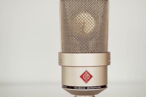 Microphone, Sound, Mic, Studio, Audio, Radio, Recording