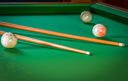 Billiards, Play, Skill, Technology, Pool Table