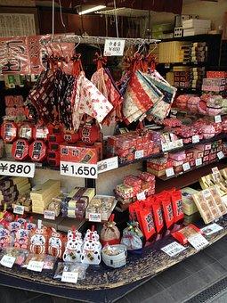 Japan, Tokyo, Of Deposit, Sweets, Toys, Apron, Doll