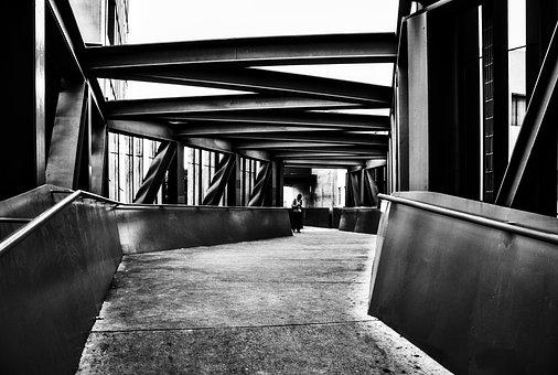 Bridge, Architecture, Silhouette, Guadalajara