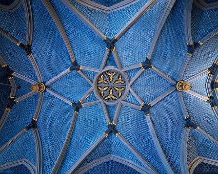 Blue, Building, Architecture, Structure, Travel