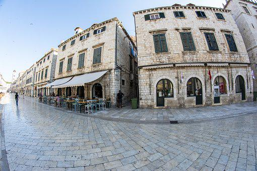 Dubrovnik, Stradun, City, Old Town, Croatia, Stone