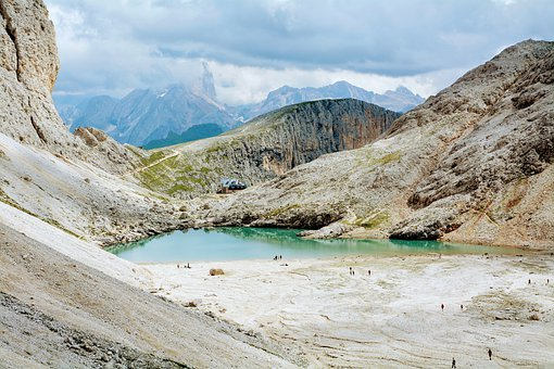 Dolomites, Lake, Refuge, Trail, Hiking, Antermoia