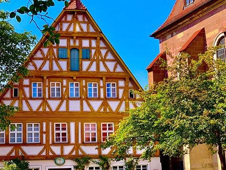 Truss, Fachwerkhäuser, Historic Center, Middle Ages